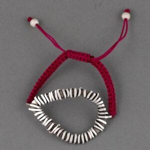 teardrop knotted bracelet