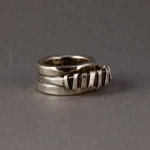 triple band wrap ring